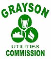 Grayson Utilitis Commission Logo